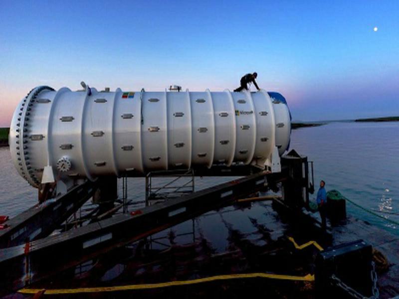 Data center submarino da Microsoft entra em operação