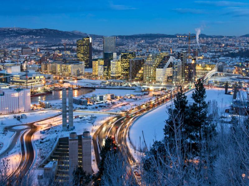 Excesso de calor de data center é usado para aquecer casas na Noruega