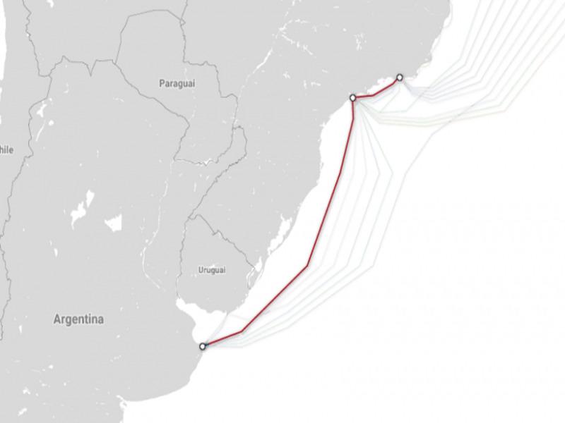 Facebook inicia a produção de cabo submarino que liga Brasil e Argentina